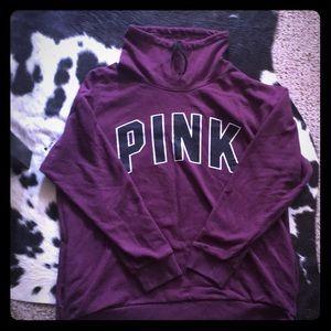 Victoria's Secret PINK mock neck hoodie 🖤